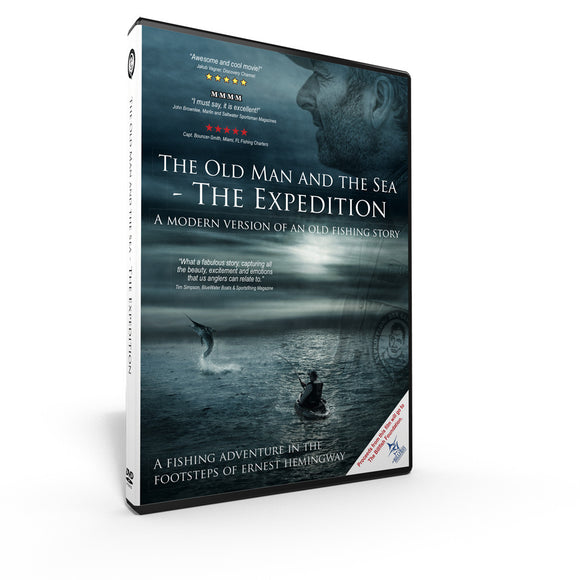 The Old Man and the Sea – The Expedition DVD