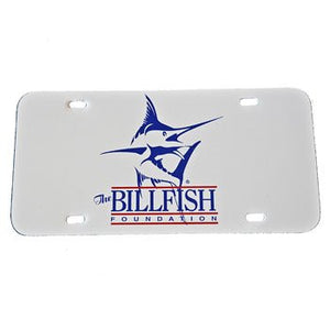 The Billfish Foundation License Plate