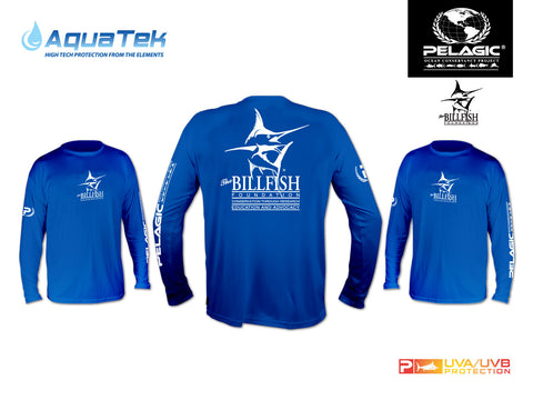 Royal Blue Pelagic Long-Sleeved UV T-Shirt