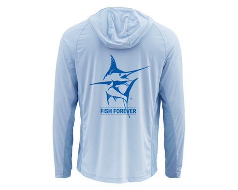 Men's Simms Long Sleeve UV Hoodie