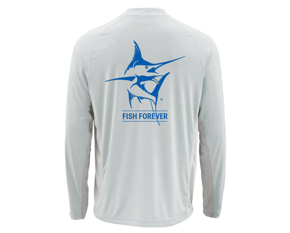Simms Long-Sleeved UV Crew Neck