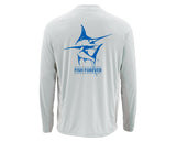Men's Simms Long Sleeve UV Crew Neck