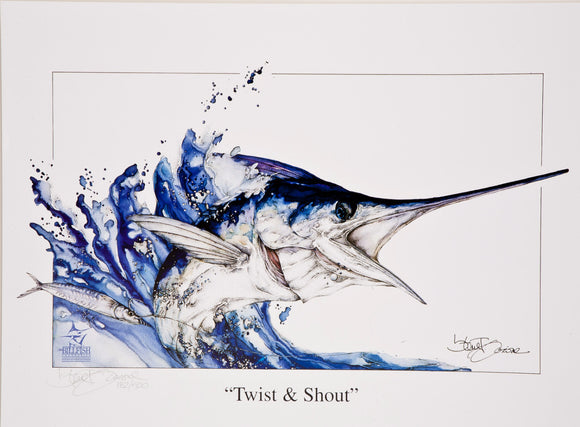 """Twist & Shout"" by Steve Goione"