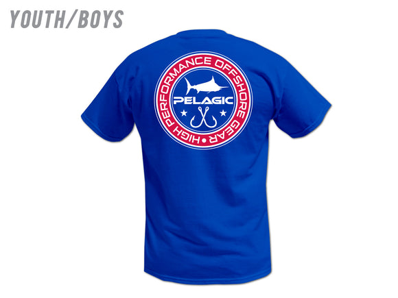 Pelagic Youth Double Hook Up T-Shirt