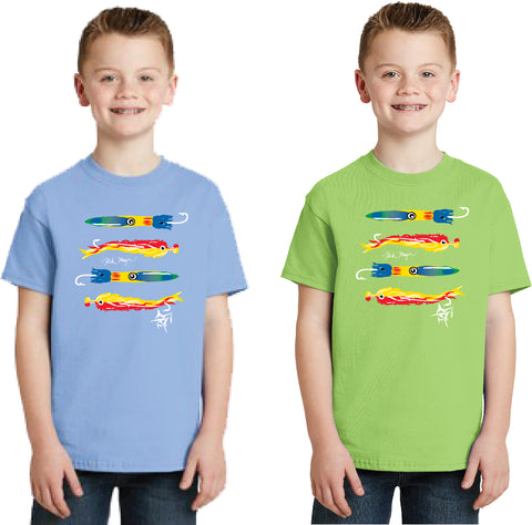 Kid's T-Shirt with Nick Mayer Art