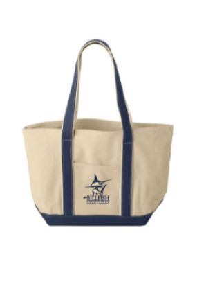 TBF Canvas Boat Tote Bag