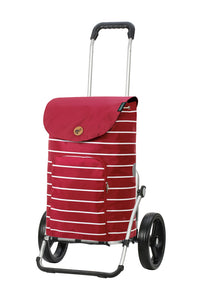 Chariot de courses Royal Shopper Mia rouge - Andersen