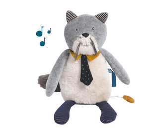 Chat musical Les Moustaches - Moulin Roty