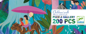 Puzzle Gallery Children's Walk 200 pièces - Djeco