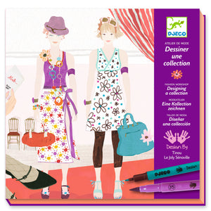 Atelier de mode Dessiner une collection - Djeco