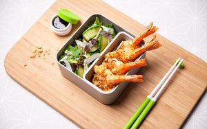 Lunch Box MB Square Gris Coton - Monbento