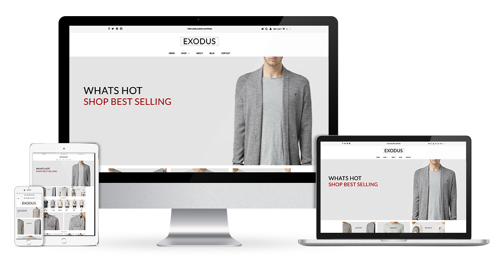 Testament Shopify theme - 9 stores for your design inspiration