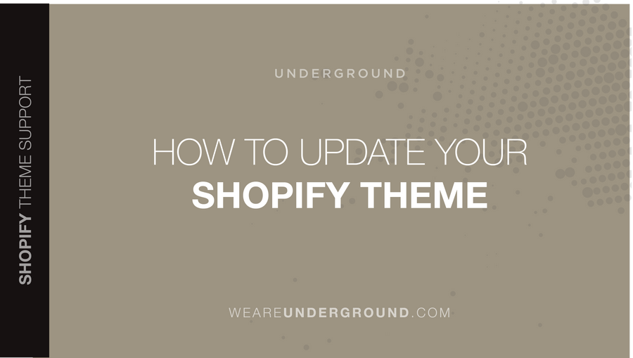 How and when to update your Shopify theme