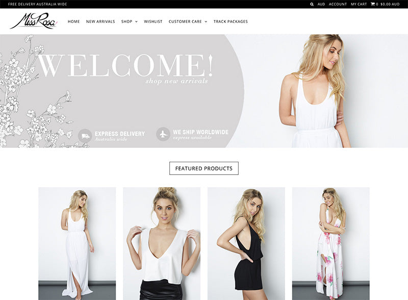Miss Rosa - Icon Shopify theme