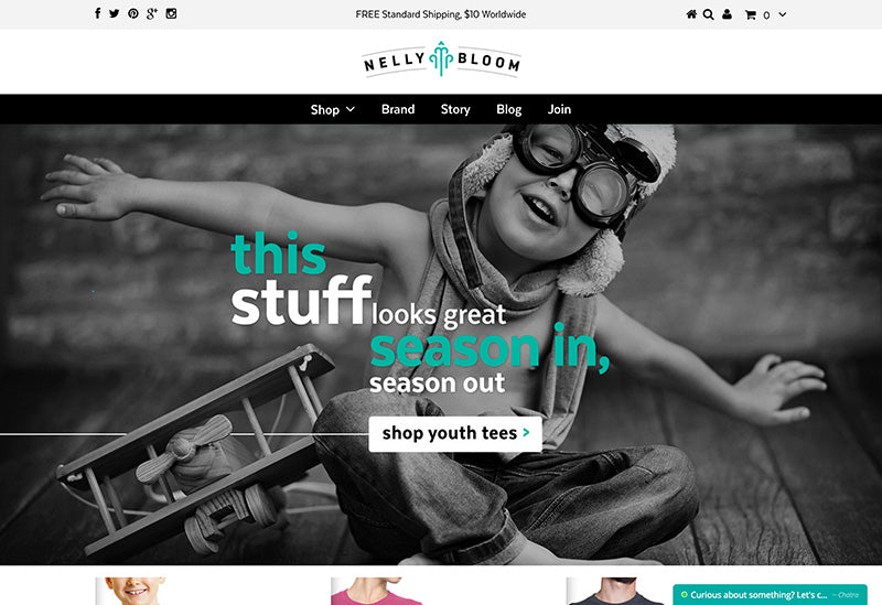 Nelly Bloom - Testament Shopify theme