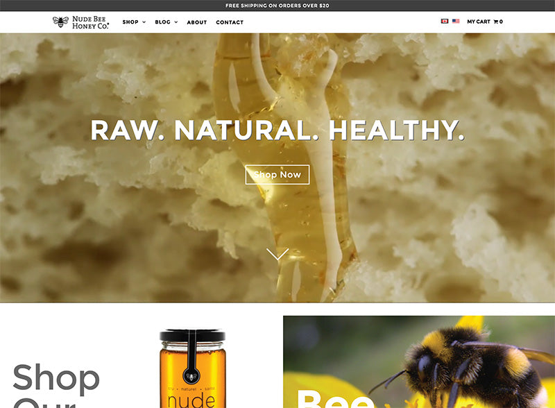 Nude Bee Honey - Icon Shopify theme