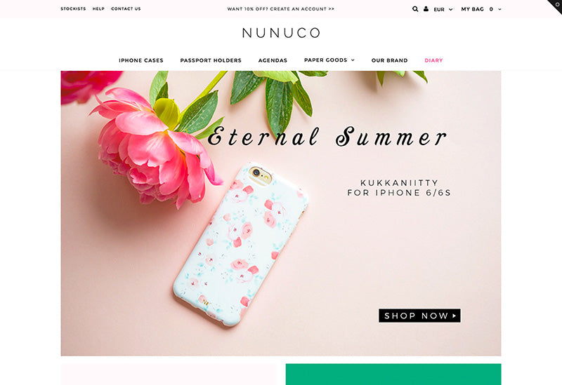 Nunuco - Testament Shopify theme