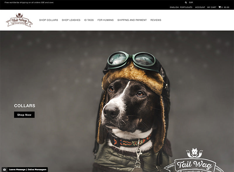 Tail Wag - Icon Shopify theme