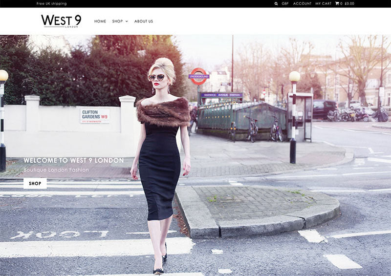 West 9 London - Icon Shopify theme