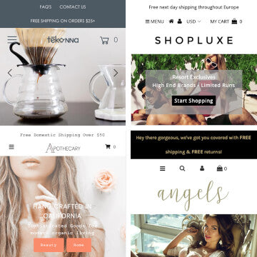 Change my themes mobile header design / layout Shopify theme