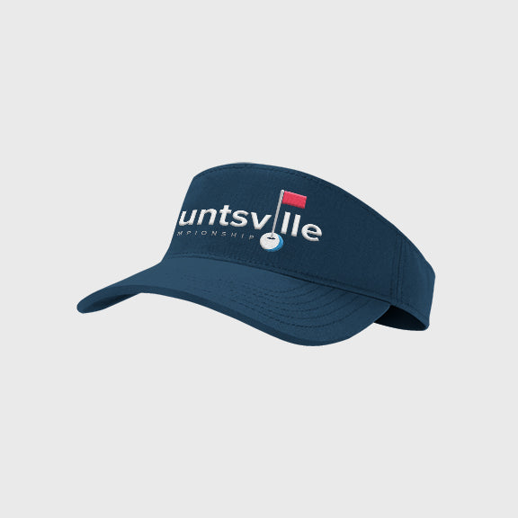 Visor: Navy (Full Logo)