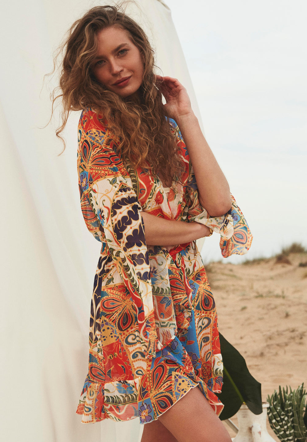 Sandshaped - Isla Cover Up Dress - Luxe Cartel