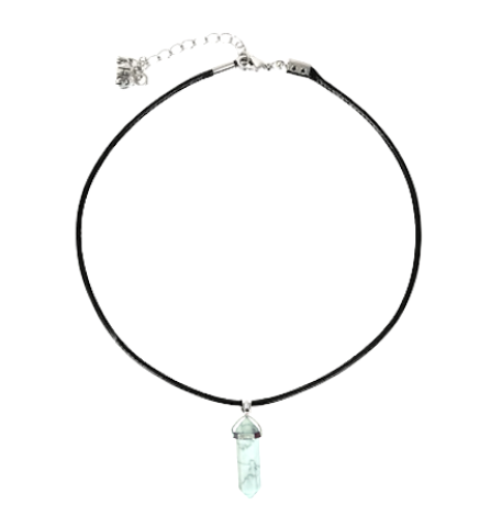 Jewelery - Crystal Point Choker (Howlite)