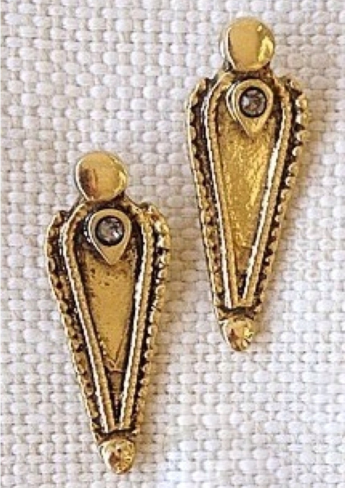 Jewelery - Vanessa Mooney / Good Night Moon Gold Earrings