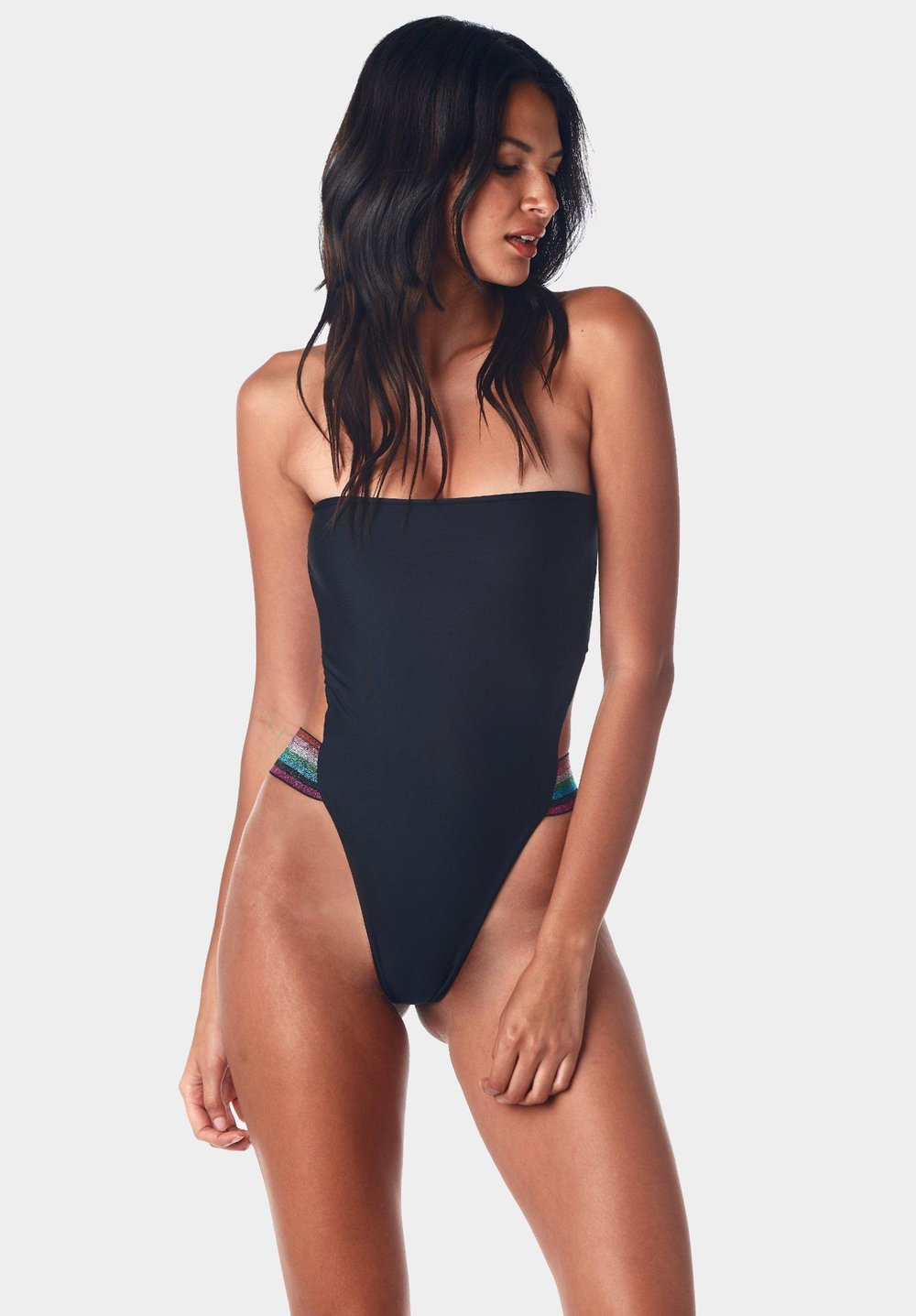Kai Lani - Disco Nero One Piece - Luxe Cartel