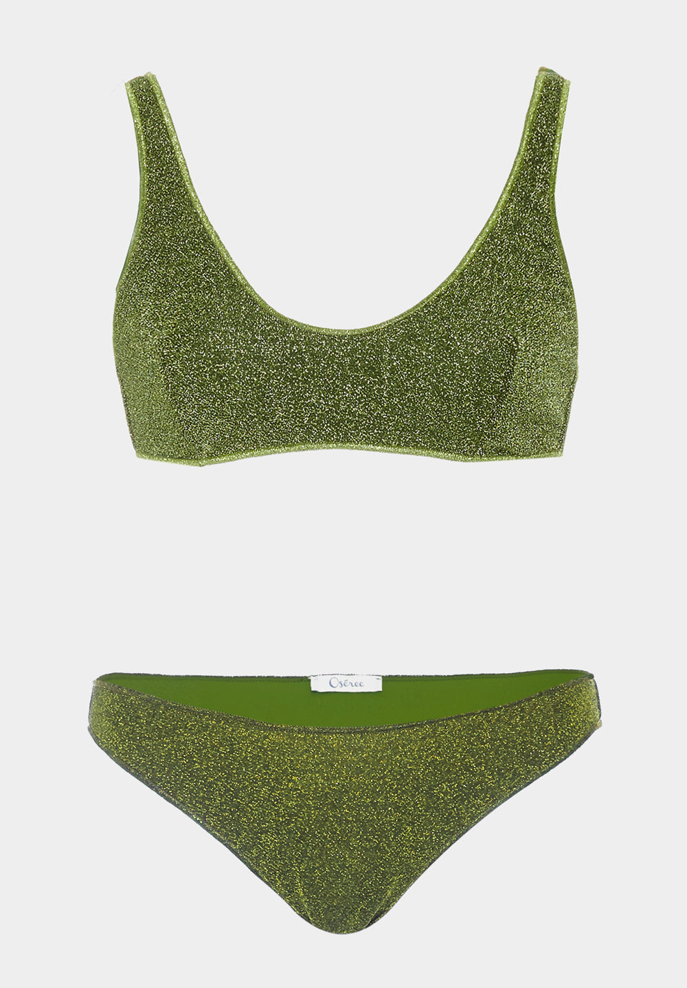 Oseree - Lumiere Sporty Bra x Brief Bikini - Luxe Cartel