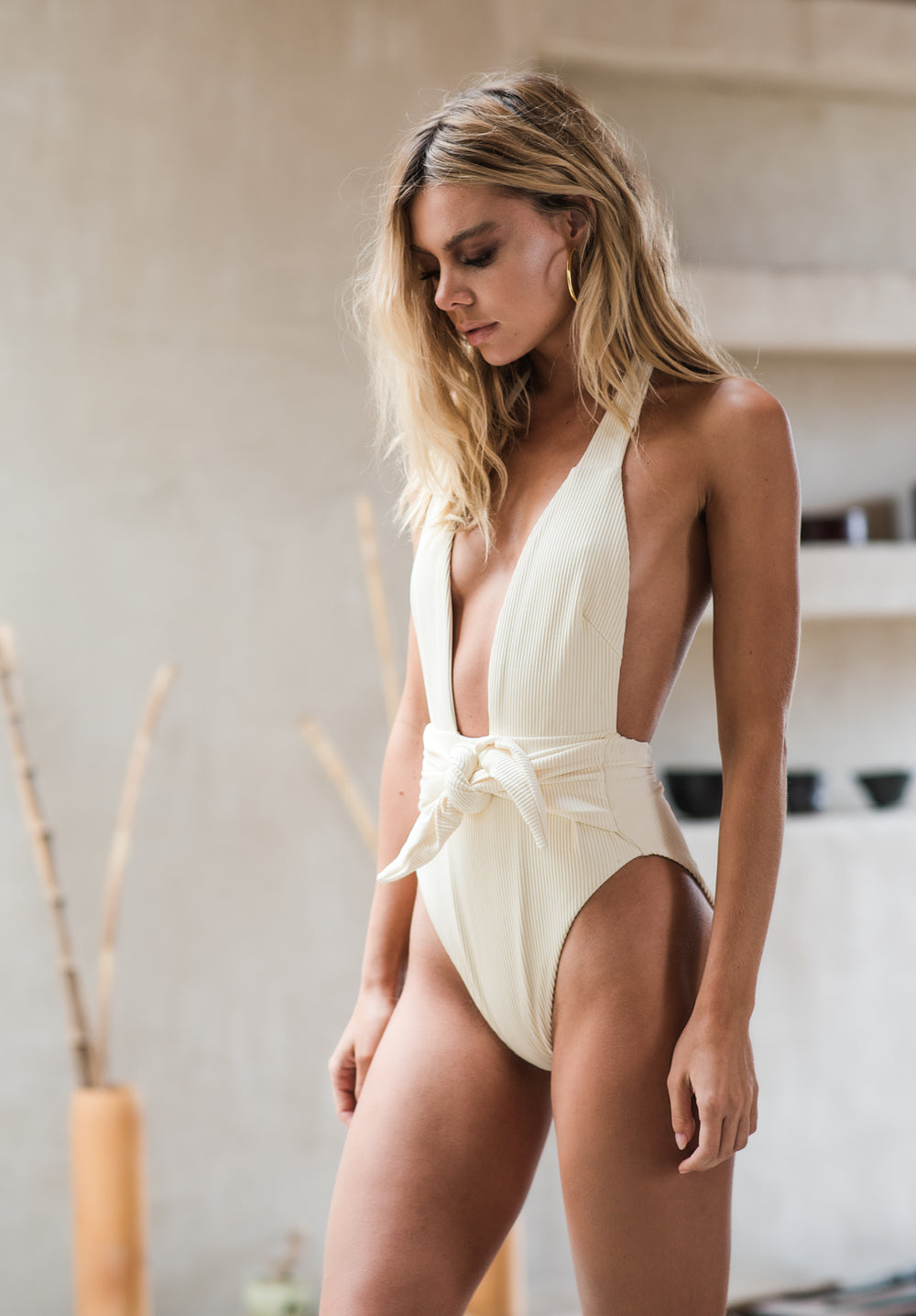Montce Swim - Tropez Tie Up One Piece - Luxe Cartel