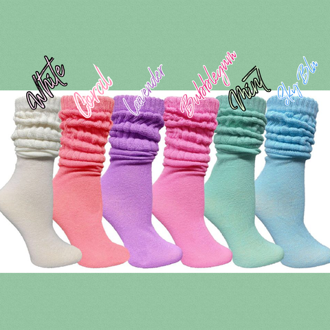 Slouch Sox [Pastel]