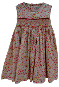Robe fille imprimé multicolore