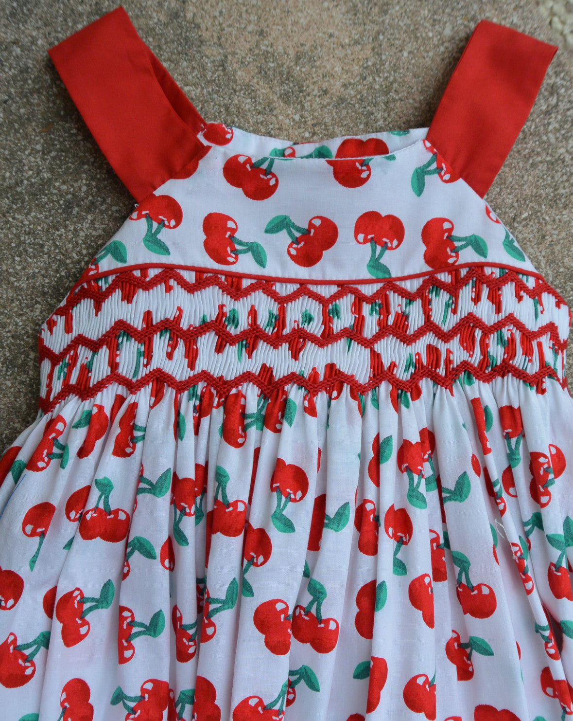 robe cerise 2 tons