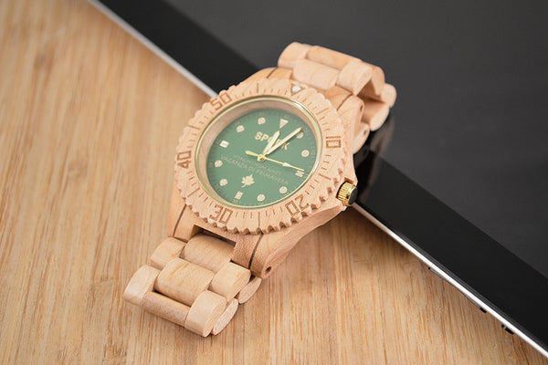 SPGBK Wood Watch