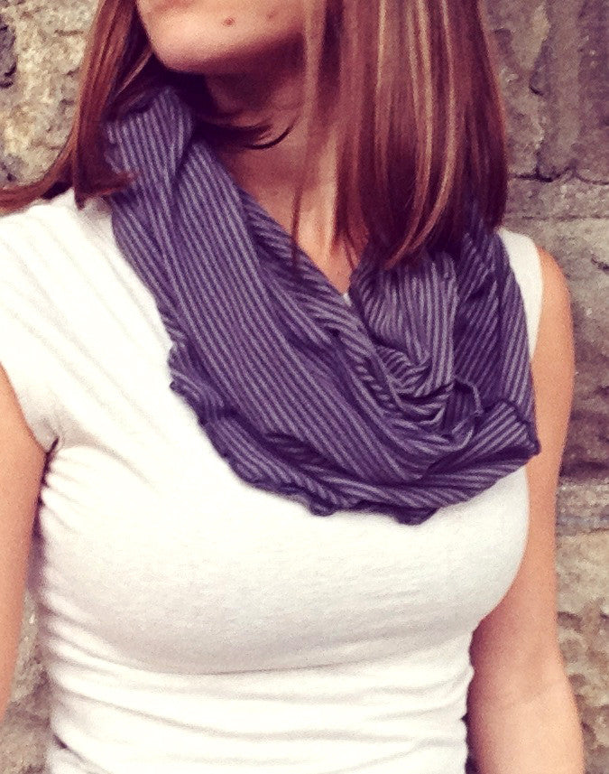 Hourglass - (Infinity Scarf + Longer Layer)