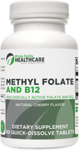 Load image into Gallery viewer, Methyl Folate and B12