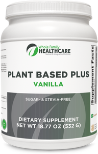 Plant Based Plus- Vanilla