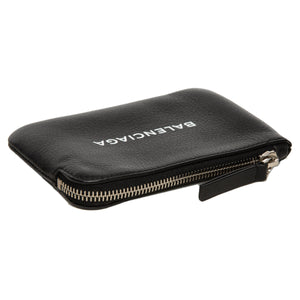 BALENCIAGA | LEATHER LOGO POUCH