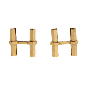 MAXFIELD PRIVATE COLLECTION | CARTIER GOLD CUFFLINKS