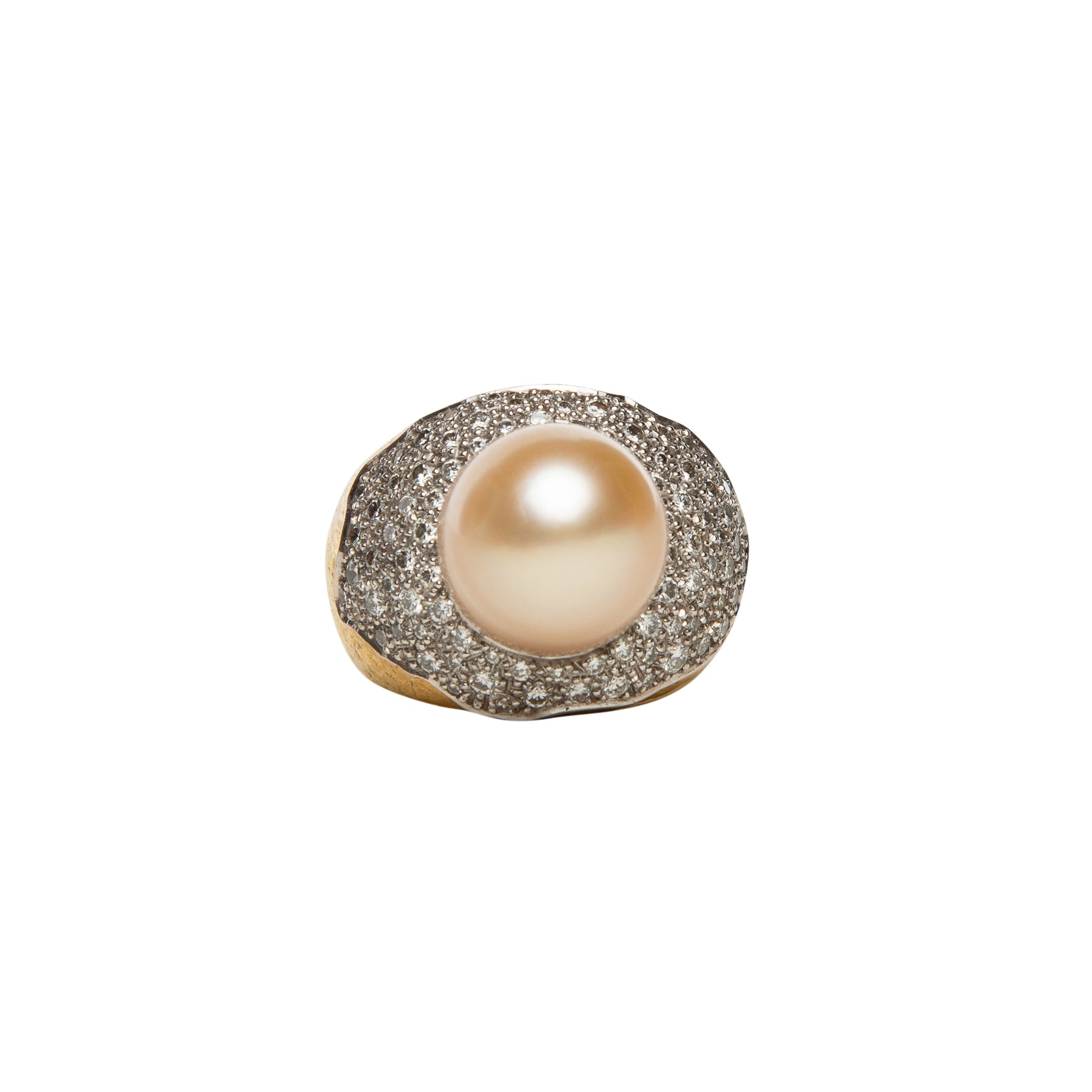 MAXFIELD PRIVATE COLLECTION | 1970'S SOUTH SEA PEARL RING BY ANDREW GRIMA