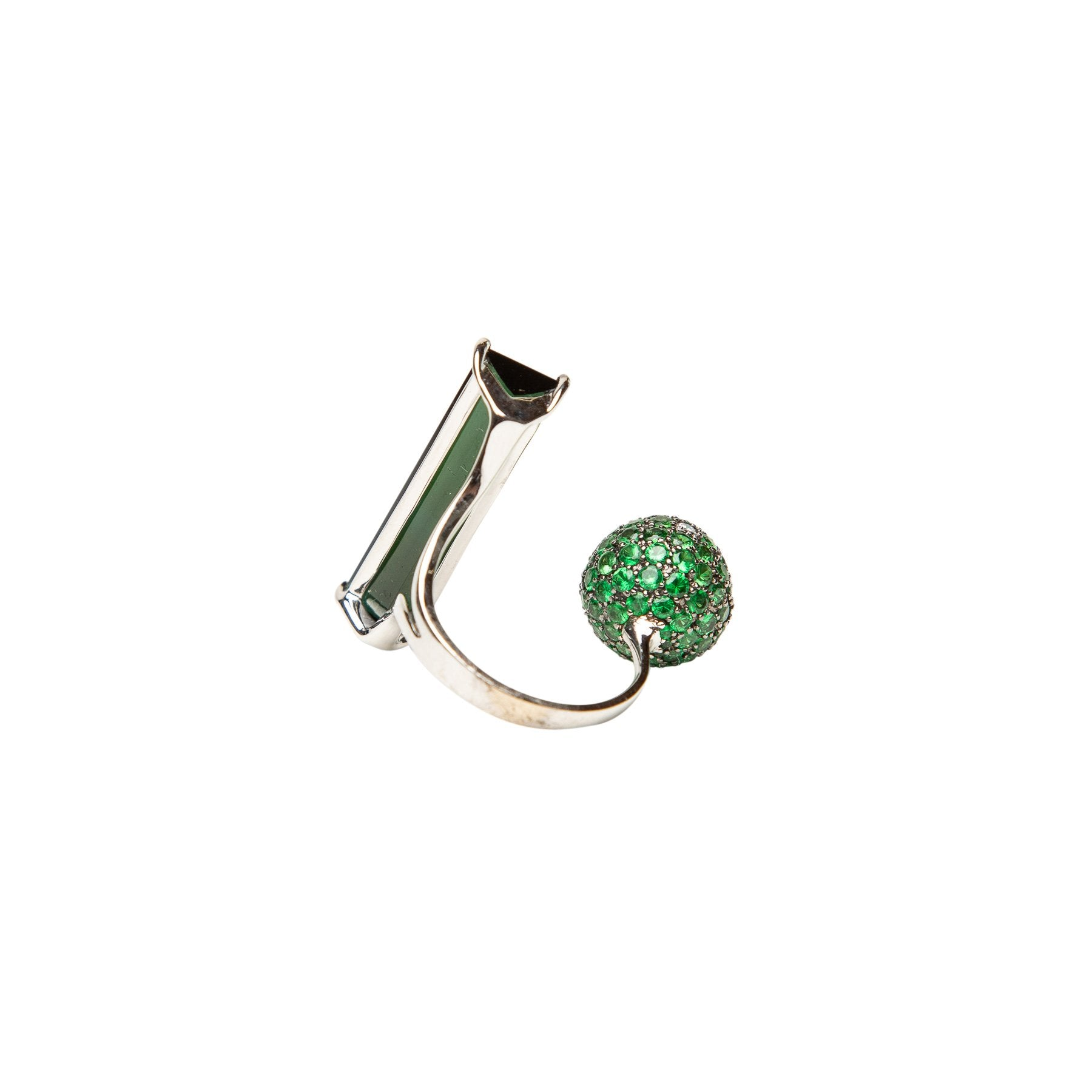 STEFERE | GREEN TOURMALINE RING