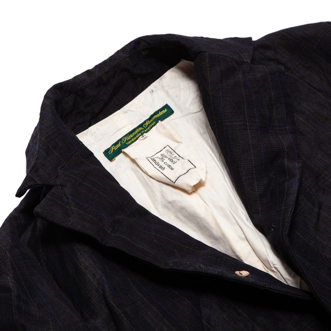 PAUL HARNDEN | LINEN NOTCHED LAPEL BLAZER
