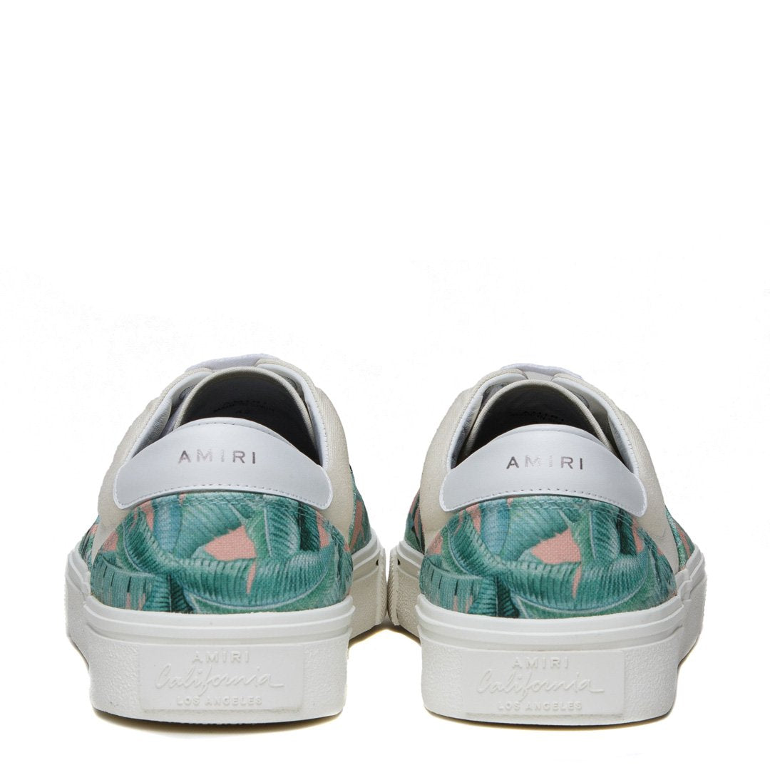 AMIRI | BANANA LEAF LOW TOP SNEAKERS
