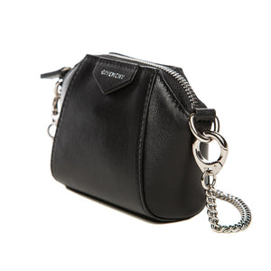 GIVENCHY | MINI BLACK LEATHER ANTIGONA BAG