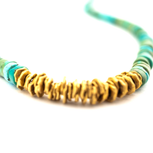 ELI HALILI | 22K ANCIENT TURQUOISE BEAD NECKLACE