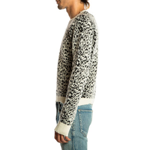 SAINT LAURENT PARIS | LEOPARD PULLOVER
