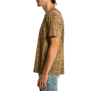 SAINT LAURENT PARIS | LEOPARD SHORT SLEEVE TEE