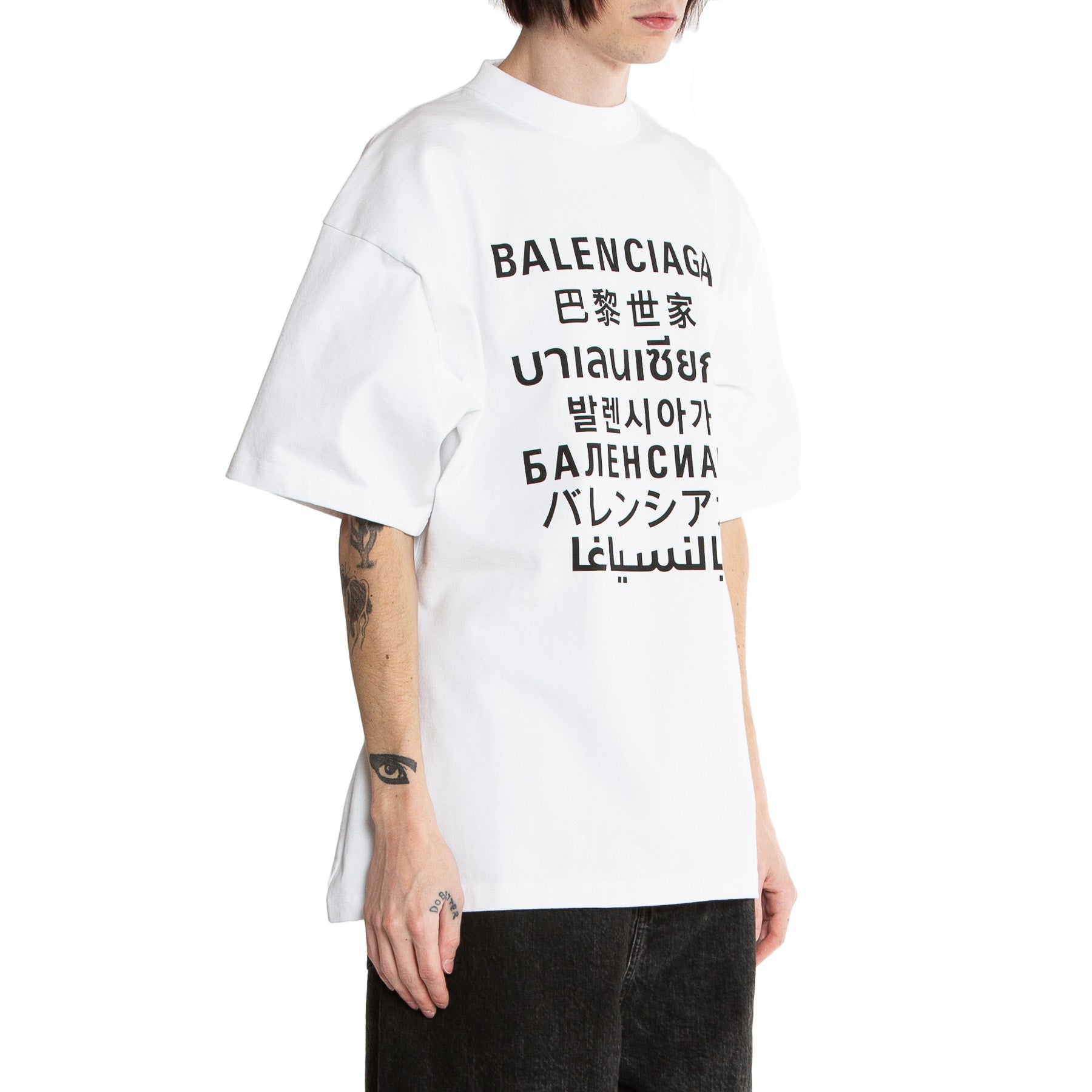 BALENCIAGA | LANGUAGES SHORT SLEEVE TEE
