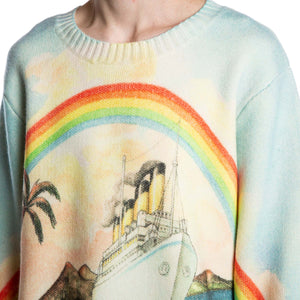CASABLANCA | PACIFIQUE GRAPHIC SWEATER